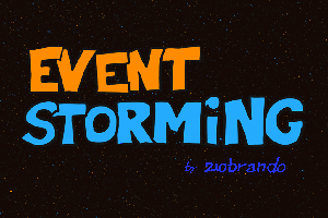 EventStorming - to proste.